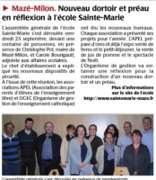 Archives Article du C.O du 1 oct 2016